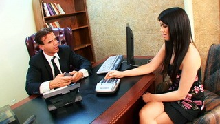 Making an interview less stressful with a bombshell